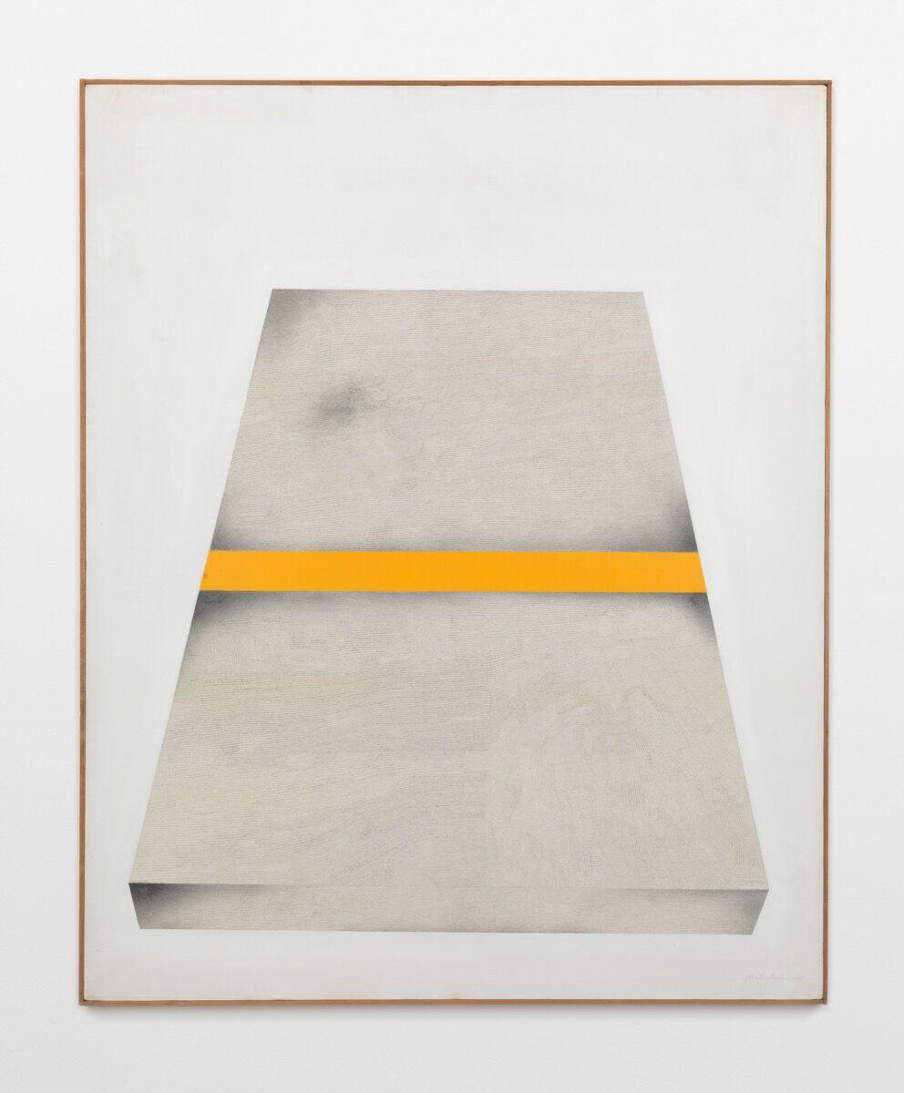 Takesada Matsutani, Object Yellow Box, 1975. © Takesada Matsutani. Courtesy of the artist and Hauser & Wirth.