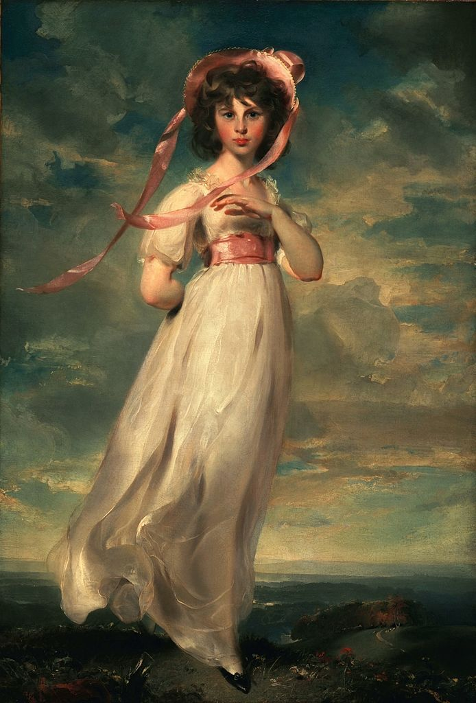 Thomas Lawrence, Pinkie, 1794. Image via Wikimedia Commons.