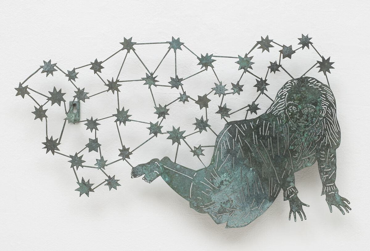 Kiki Smith, Girl with Stars, 2004. Courtesy of Camille Obering.