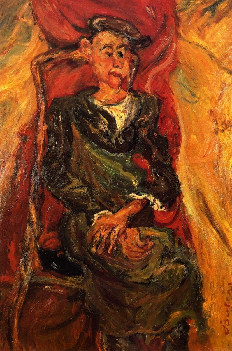 Chaim Soutine, L'apprenti (The Apprentice), ca. 1922.
