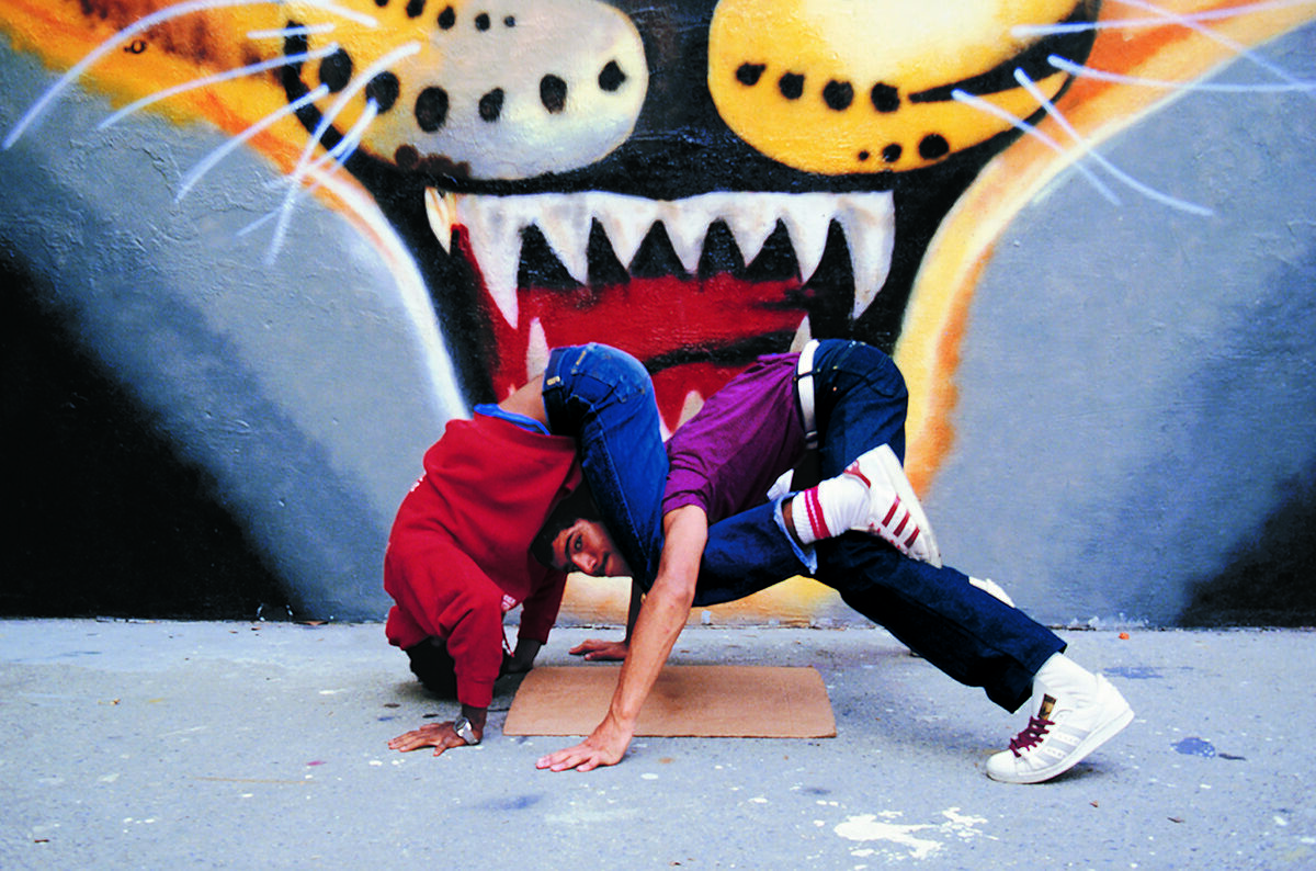 Janette Beckman, Rock Steady Crew, New York City, 1983. © Janette Beckman. Courtesy of the artist.