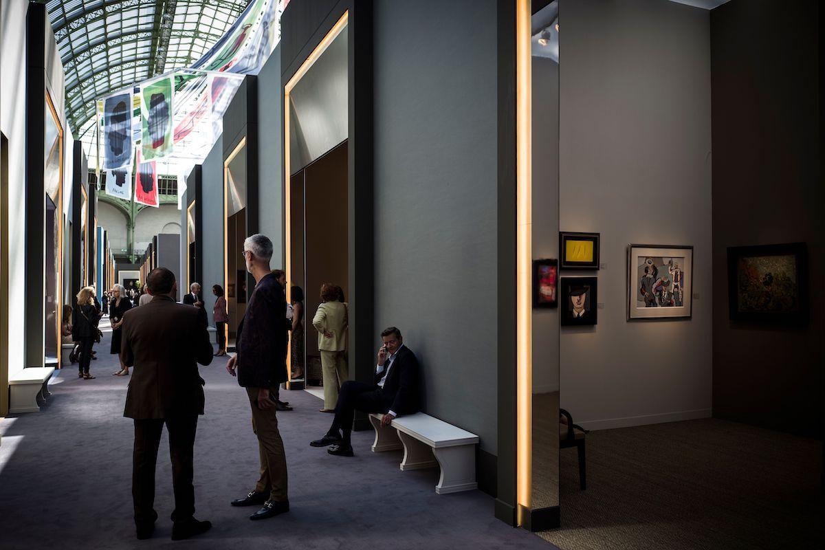 The 2018 edition of La Biennale Paris. Photo by Philippe Lopez/AFP/Getty Images.