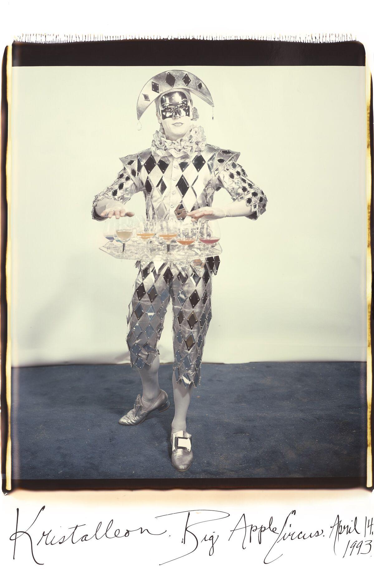 Elsa Dorfman, Kristalleon Big Apple Circus, 1993. Courtesy of the artist.
