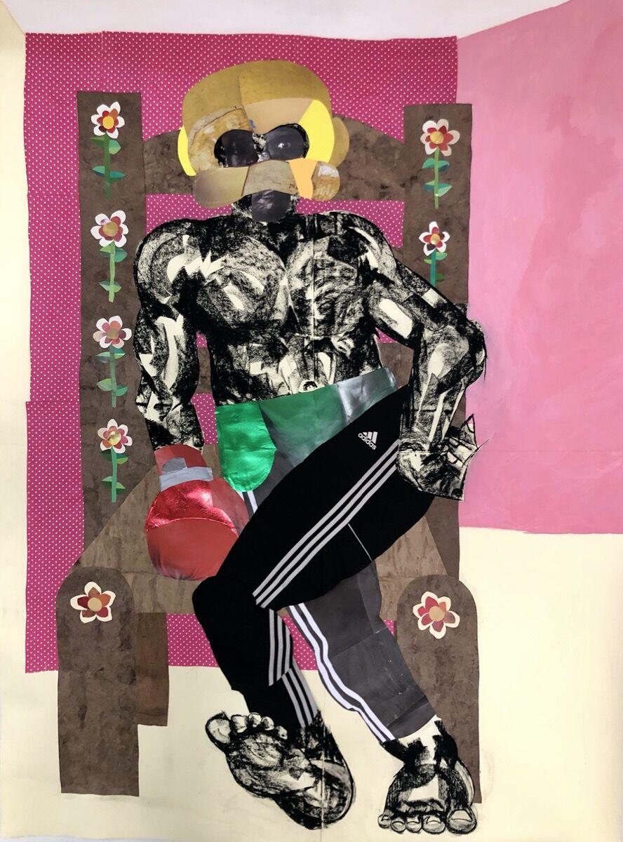 Clotilde Jiménez, Always On Guard, 2020. Courtesy of the artist and Mariane Ibrahim Gallery.