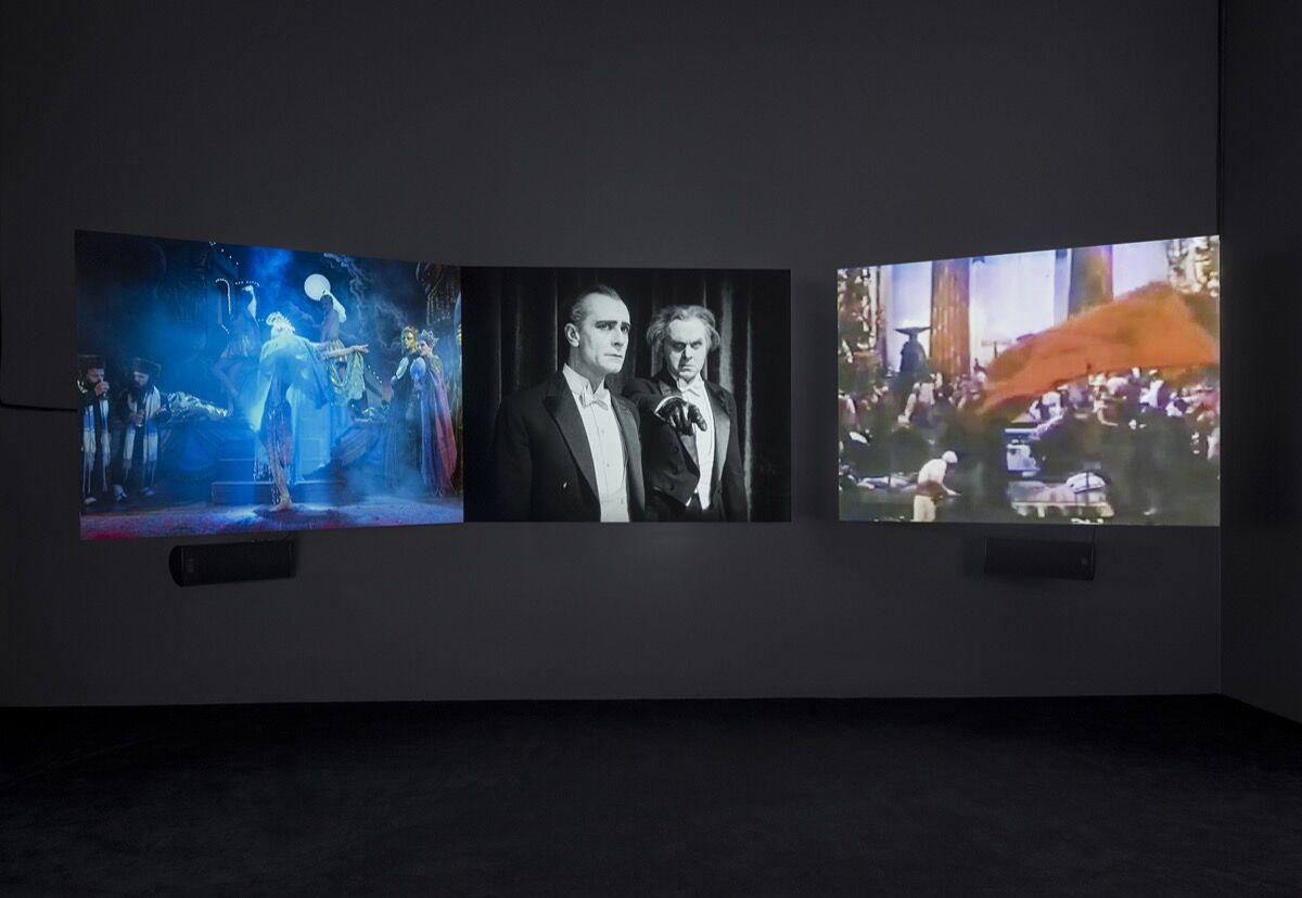 """Installation view of Nan Goldin, """"Siren"""" at Marian Goodman Gallery, 2019. Courtesy of the artist and Marian Goodman Gallery New York, Paris, and London."""