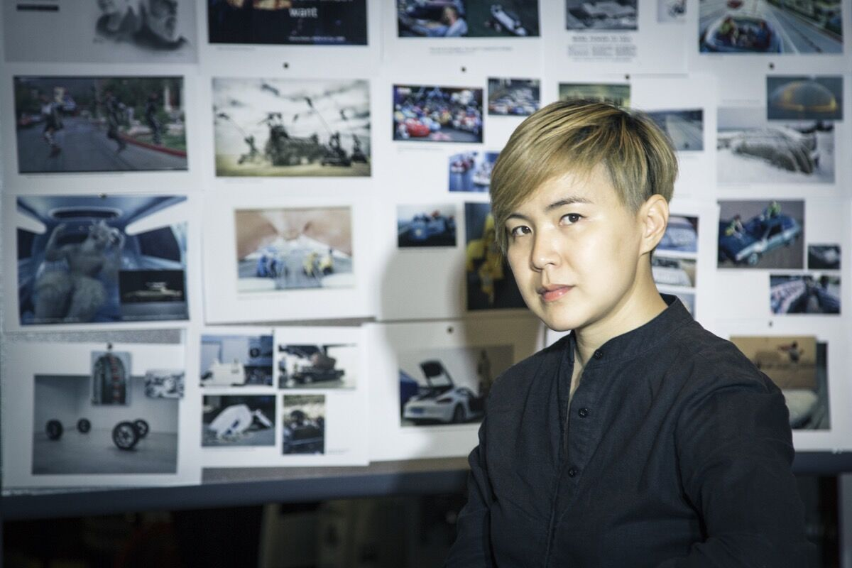 Portrait of Cao Fei © the artist and Cao Fei Studio. Courtesy of BMW.