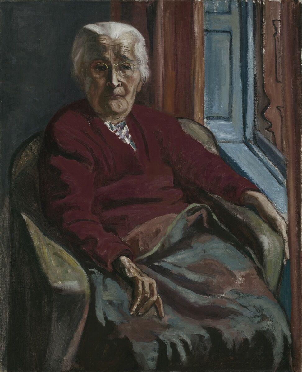 Alice Neel, My Mother, 1952. © The Estate of Alice Neel. Courtesy of the Estate of Alice Neel and Victoria Miro.