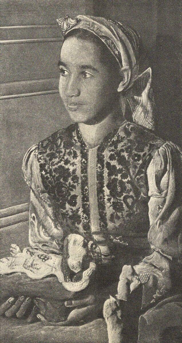 Portrait of Baya. Courtesy of Galerie Maeght.