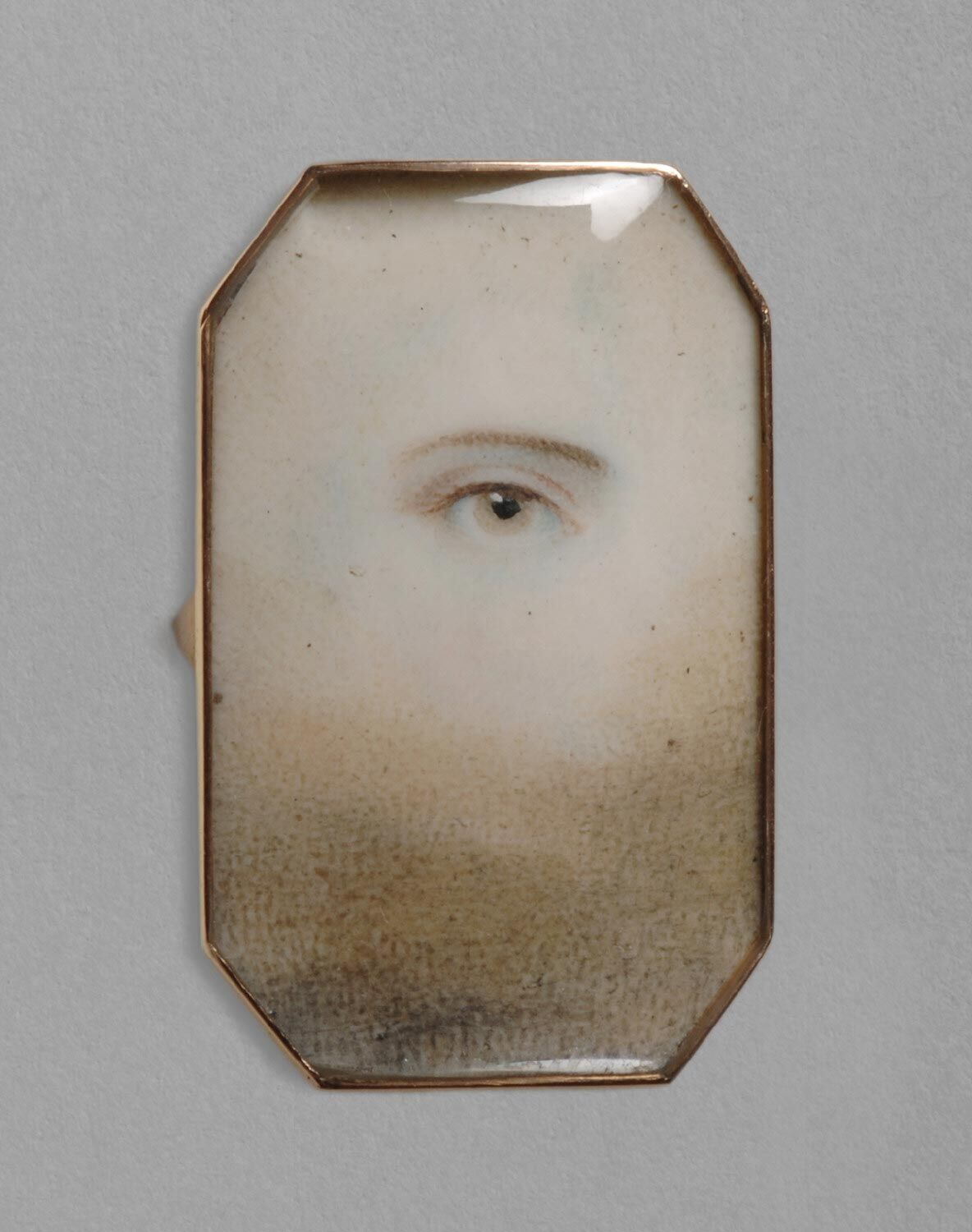 Portrait of a Right Eye (mounted as a ring). Courtesy of the Philadelphia Museum of Art.