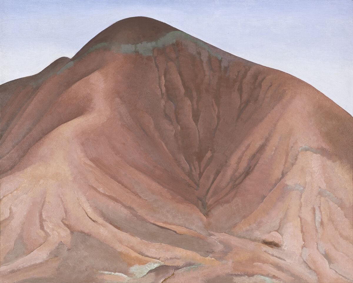 Georgia O'Keeffe, Small Purple Hills, 1934. Photo by Amon Carter Museum of American Art. © 2018 Crystal Bridges Museum of American Art, Bentonville, Arkansas.