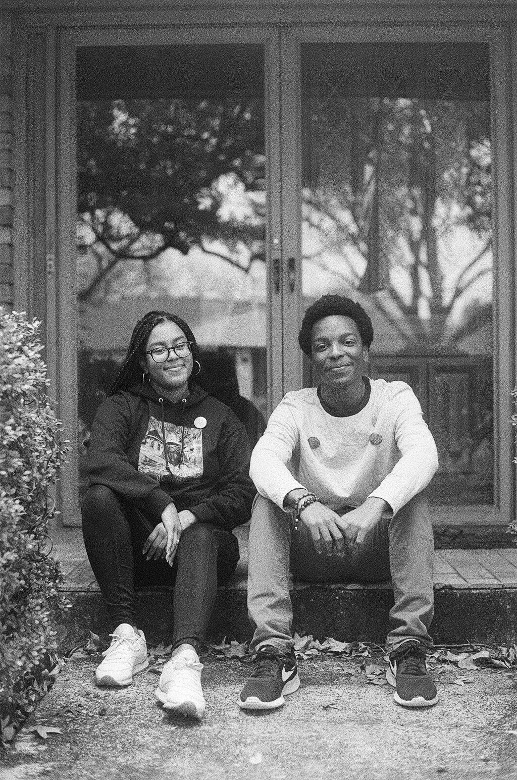 Kennedy Williams and Brandon Douglas. Photo by Micah Pegues. Courtesy of Polychrome Mag.