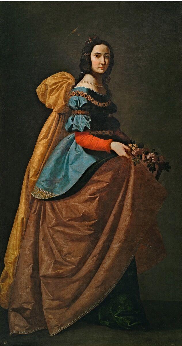 """Francisco de Zurbarán, Saint Elisabeth of Portugal (""""Santa Isabel de Portugal""""), ca. 1635. Image © Archivo Fotografico Museo Nacional del Prado. Courtesy of the Museo Thyssen Bornemisza."""