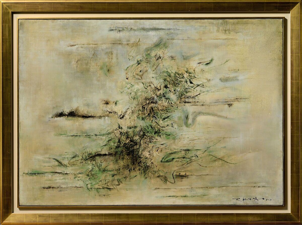 Zao Wou-Ki, Untitled, 1958. Courtesy of Sotheby's.