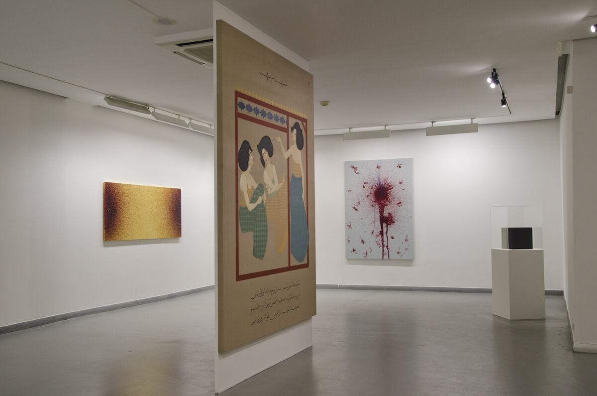 "Installation view of ""Minor Heroisms,"" courtesy of Galeri Zilberman"