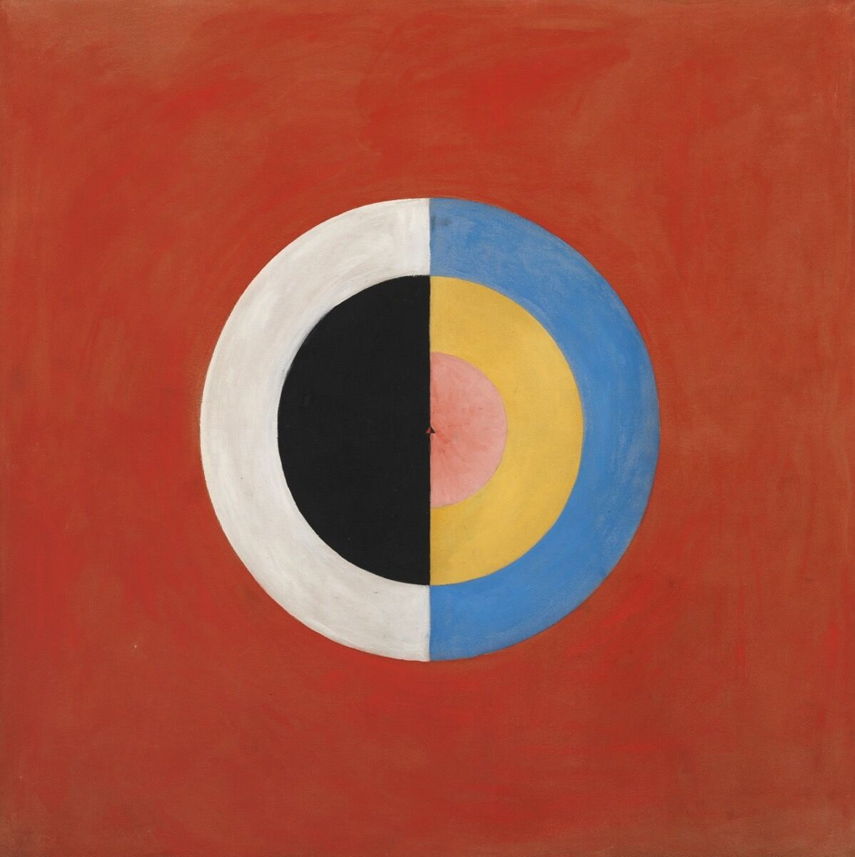 Hilma af Klint, Svanen (The Swan) No. 17, Group IX/SUW, The SUW/UW Series, 1914-1915. Image via Wikimedia Commons.