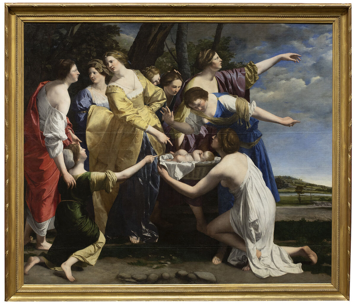 Orazio Gentileschi, The Finding of Moses, early 1630s. © Private Collection. Courtesy National Gallery, London.