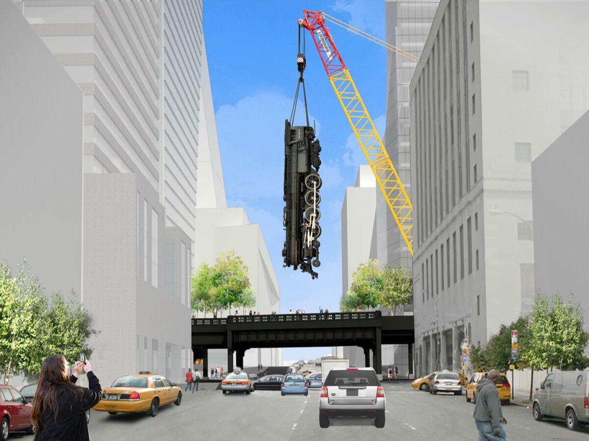 Image by James Corner Field Operations, Diller Scofidio + Renfro, and Jeff Koons. Courtesy of Friends of the High Line.