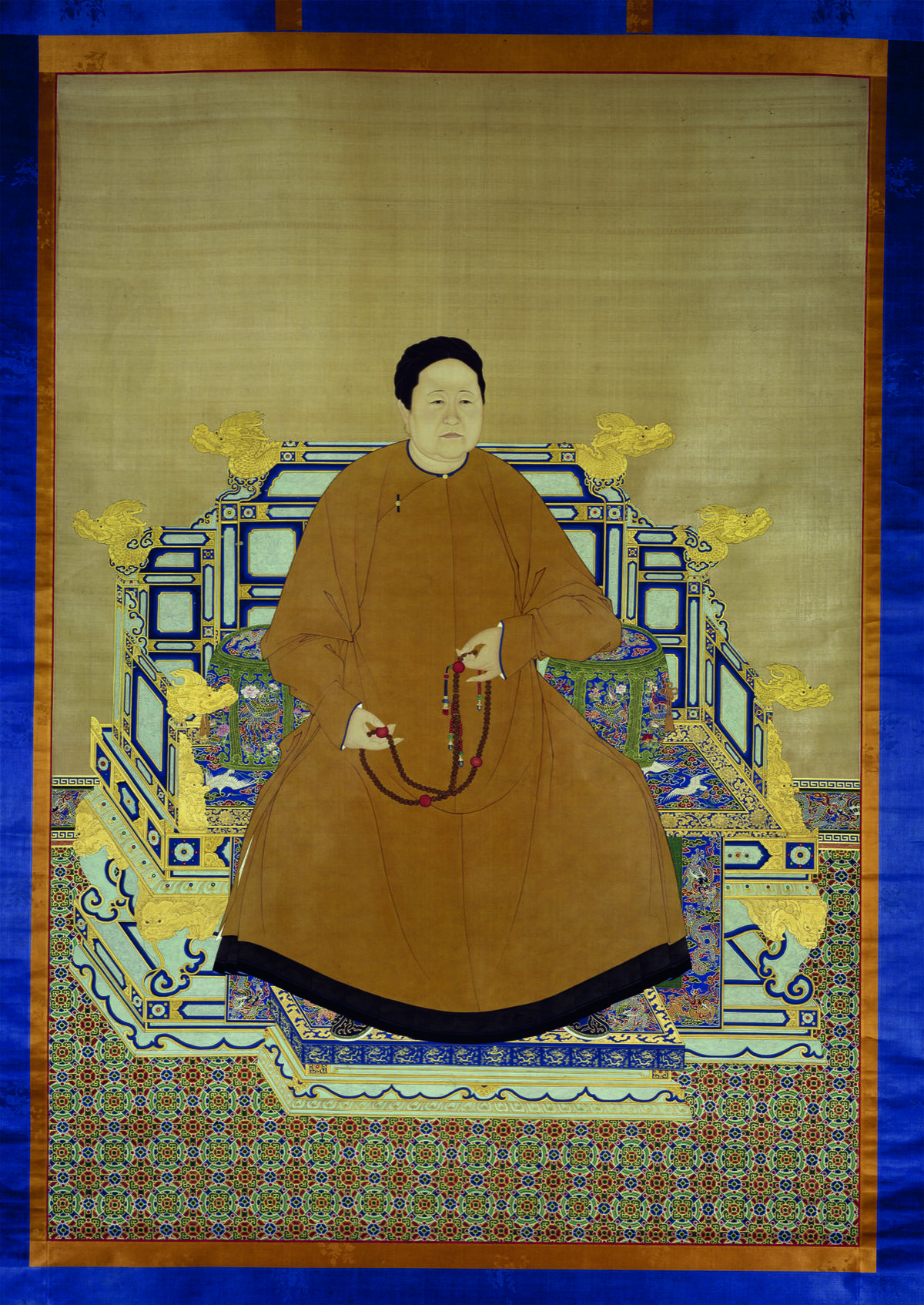 Probably Giuseppe Castiglione and other court painters, Empress Xiaozhuang, ca. 1750. © The Palace Museum.