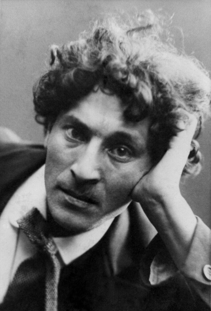 Marc Chagall, ca. 1910-11. © Archives Marc et Ida Chagall.