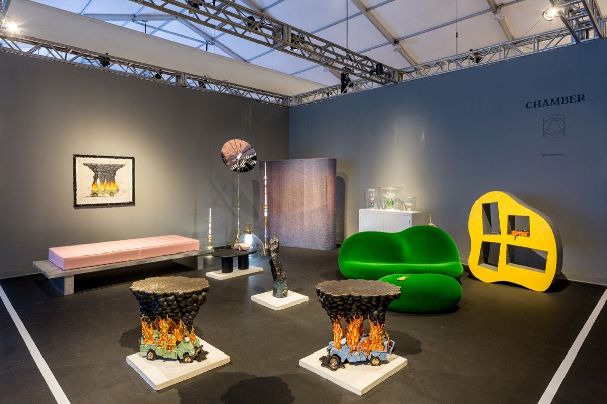 Installation view of Chamber's booth at Design Miami/, 2016. Photo by Alain Almiñana for Artsy.