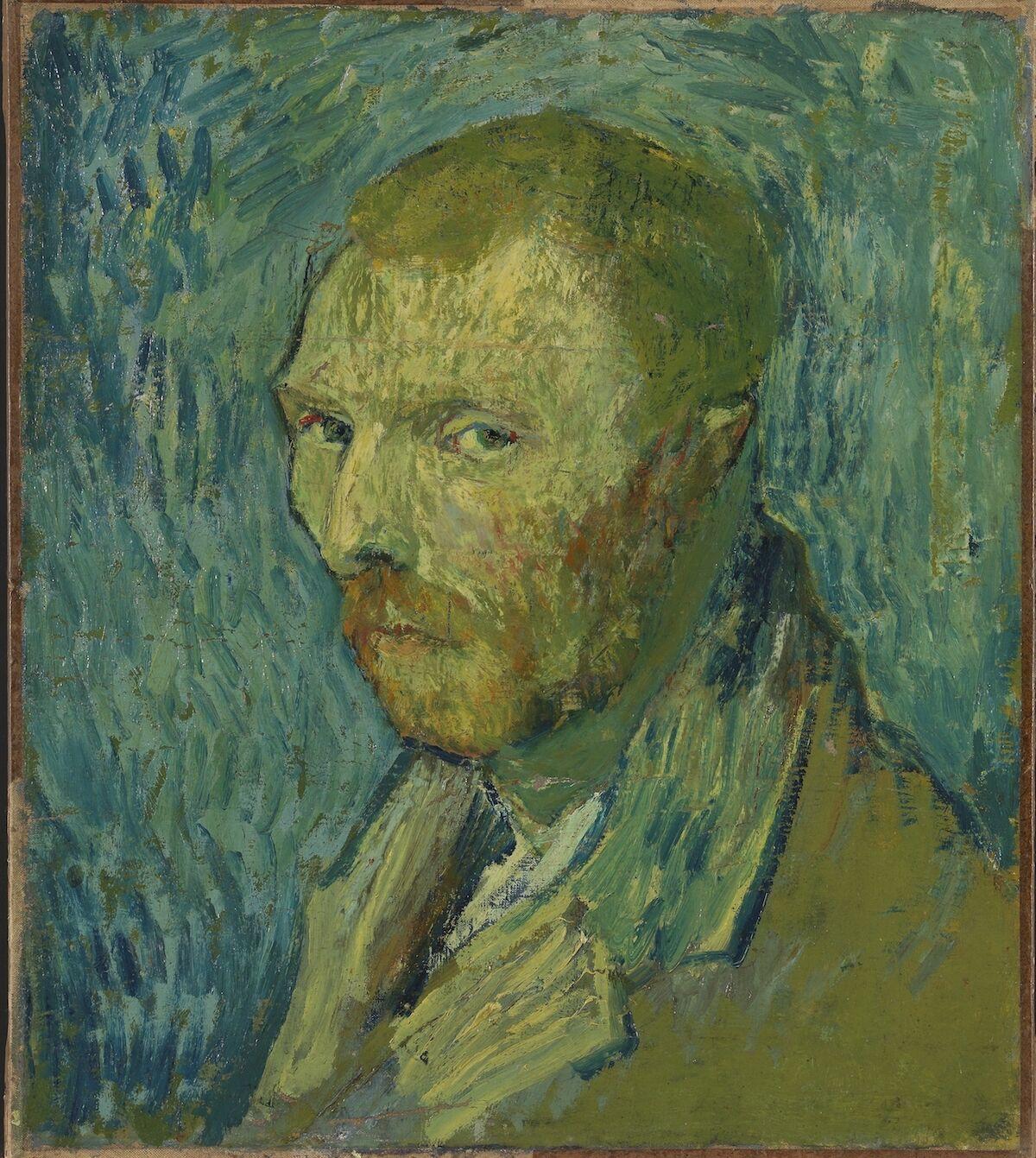 Vincent van Gogh, Self-Portrait, 1889. National Museum, Oslo.