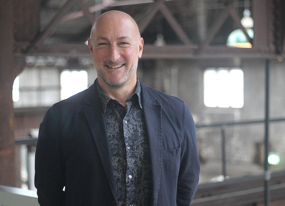 Portrait of Barry Keldoulis courtesy Sydney Contemporary.
