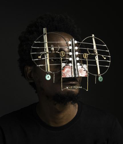 Cyrus Kabiru, Dadab (2017), Image courtesy of ART X Lagos