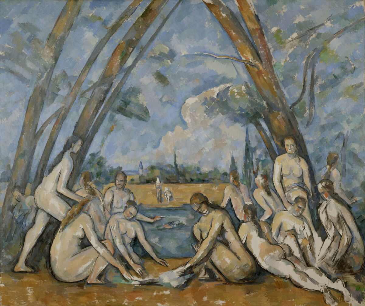 Paul Cézanne, The Large Bathers, 1900-1906. Courtesy of the Philadelphia Museum of Art.