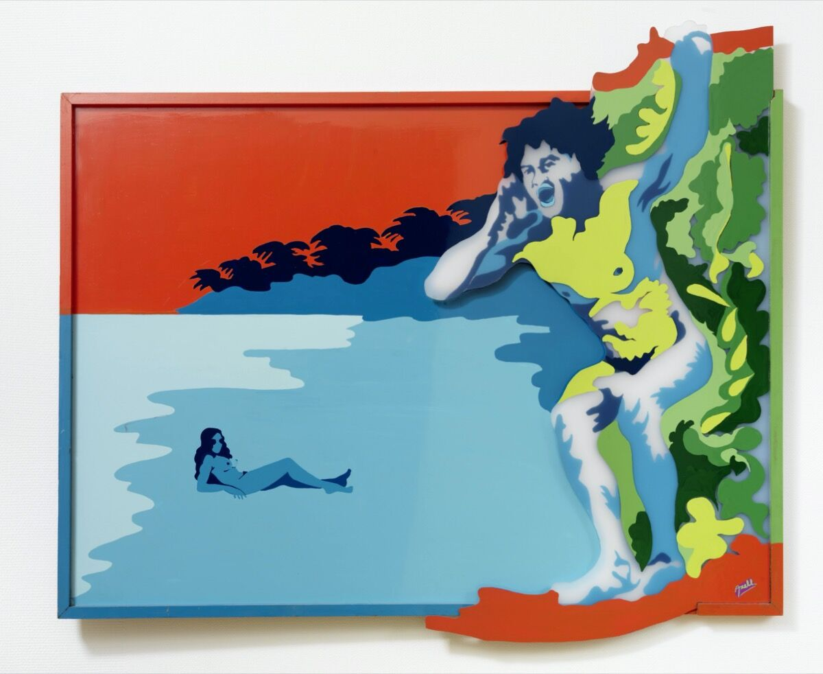 Evelyne Axell, L'appel, 1972. Courtesy of Collection Philippe Axell and Muzeum Susch.