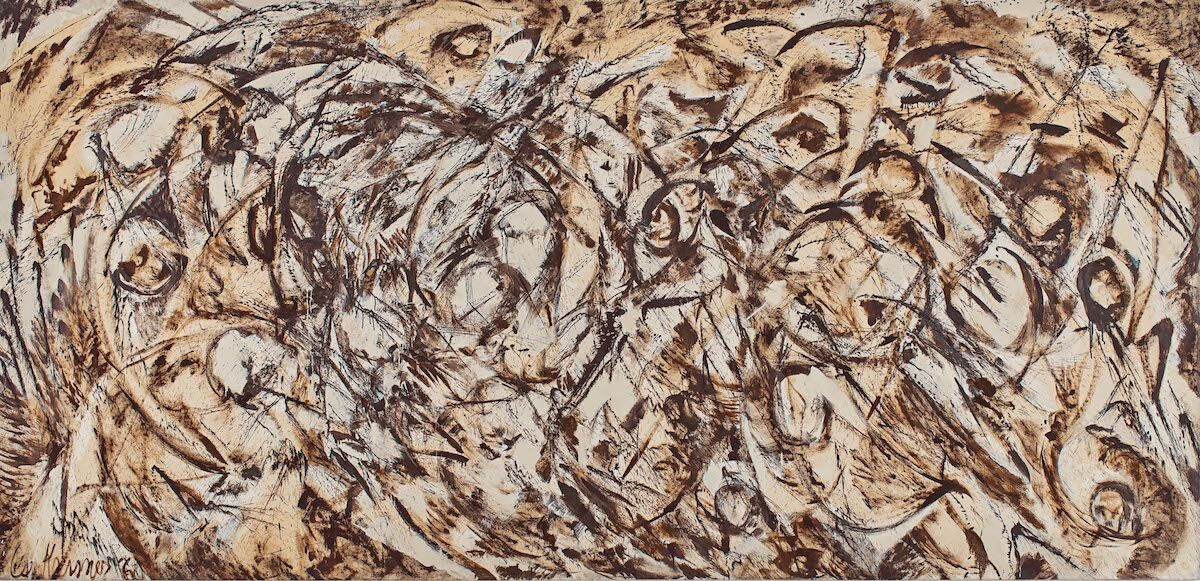 Lee Krasner, The Eye is the First Circle, 1960. Courtesy Sotheby's.