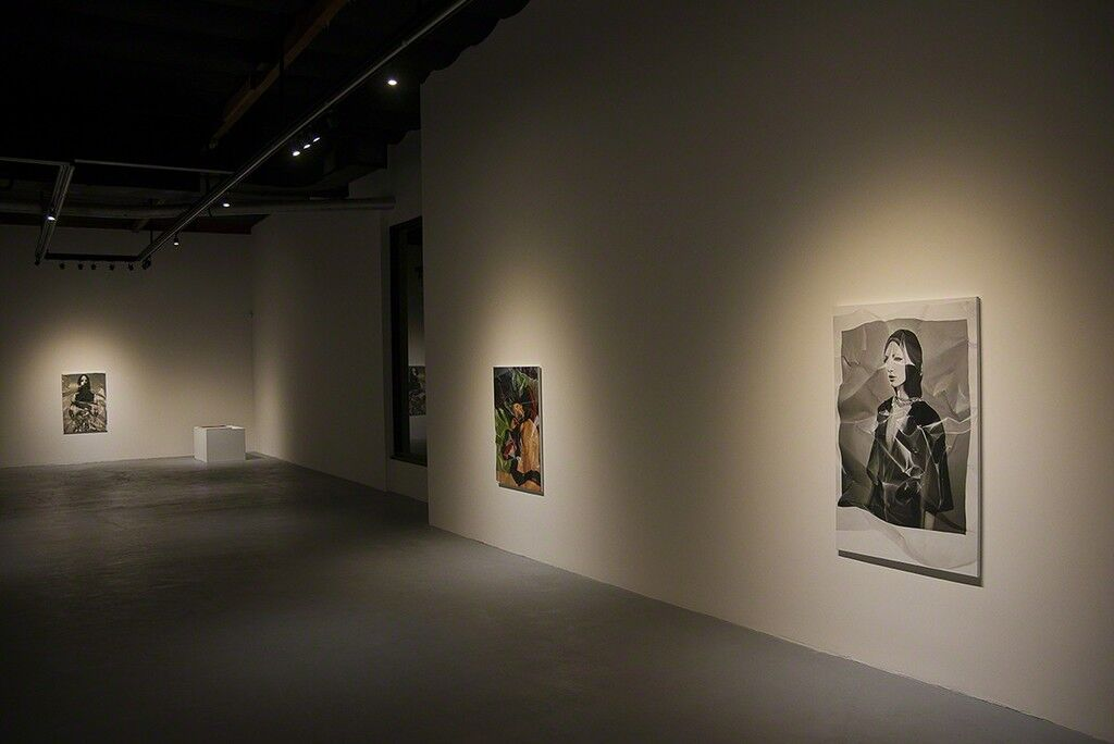 "Installation view ""Stefania Fersini"" at ""101/EXHIBIT."" Image courtesy 101/EXHIBIT Gallery."