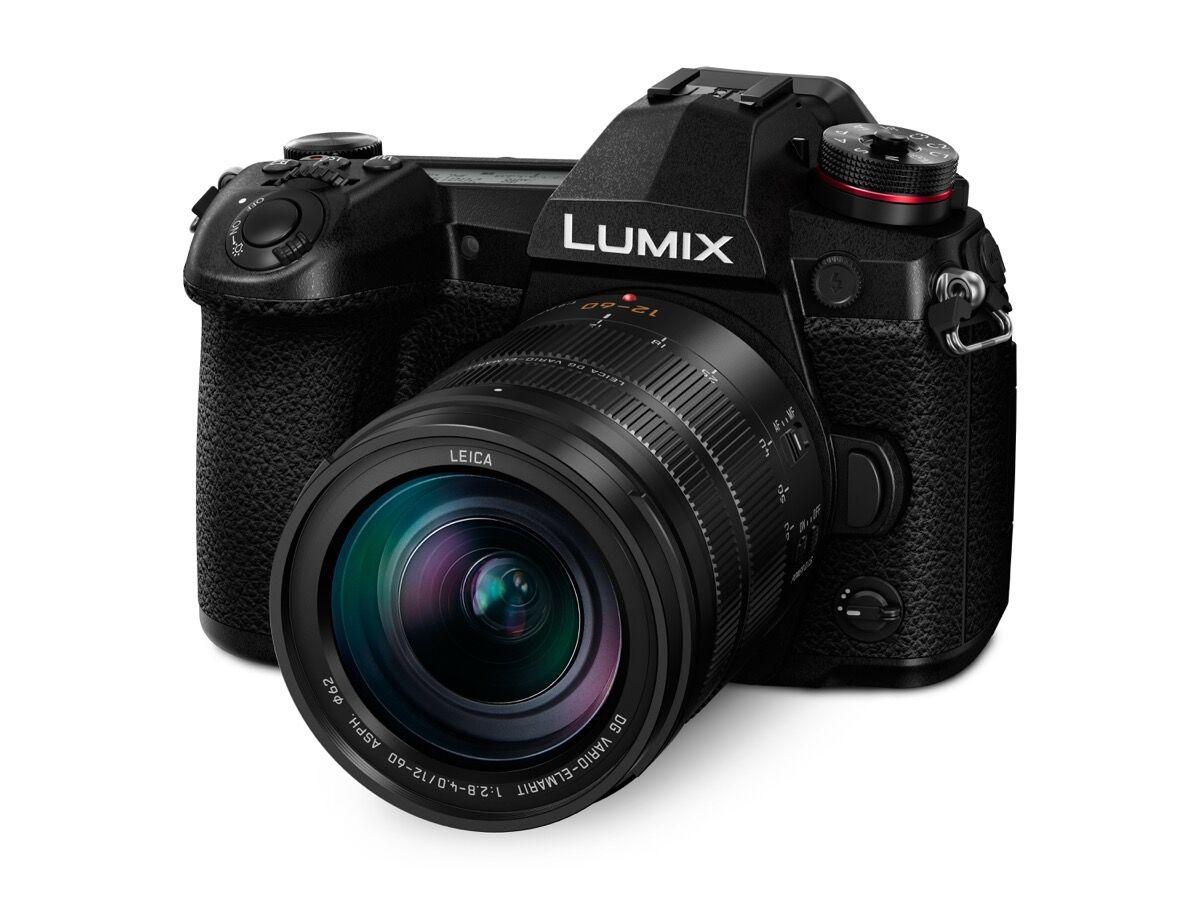 Product shot of Lumix G9 Pro. Courtesy of Panasonic.