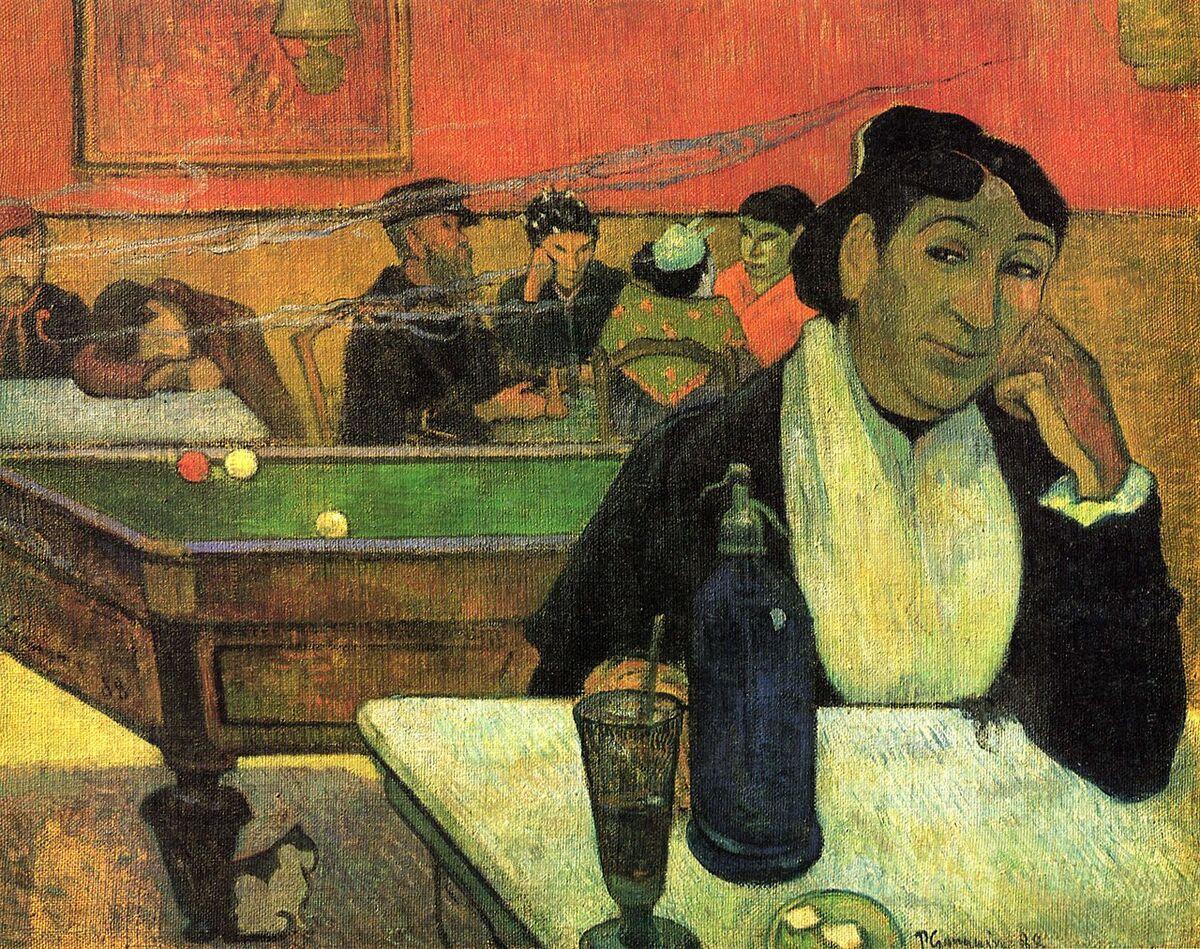 Paul Gauguin, The Night Cafe, Arles, 1888. Image via Wikimedia Commons.