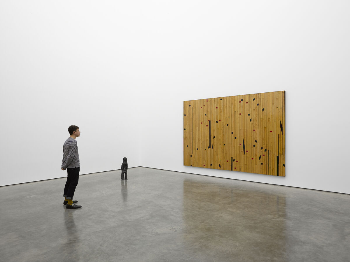 "Theaster Gates, ""Freedom of Assembly,"" White Cube Bermondsey, London. 29 April - 5 July 2015. © Theaster Gates. Photo: White Cube (George Darrell)"