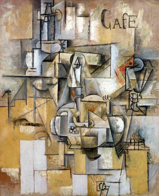 Pablo Picasso, Le pigeon aux petits pois (Pigeon with Peas), 1911.