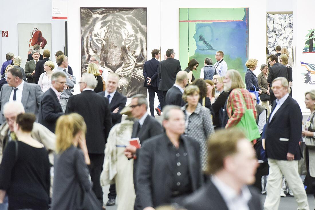 Art Cologne 2015. Photo: © Koelnmesse.