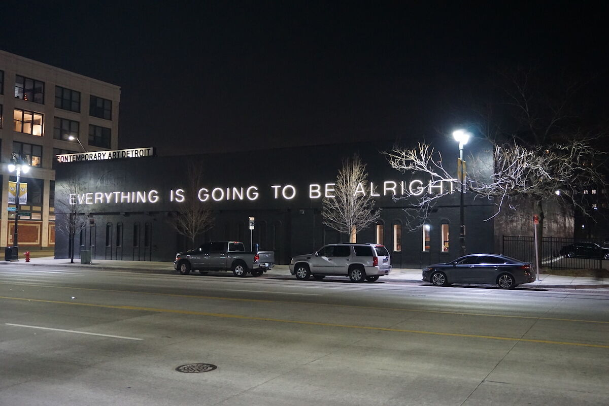 The Museum of Contemporary Art in Detroit. Photo by Michael Barera, via Wikimedia Commons.