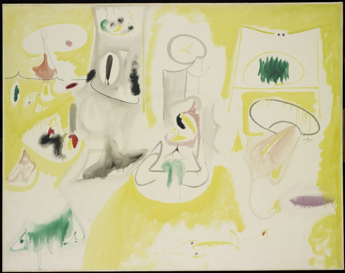 Arshile Gorky, Pastoral, 1947. © 2017 The Arshile Gorky Foundation / Artists Rights Society (ARS), New York. Courtesy of The Arshile Gorky Foundation and Hauser & Wirth.
