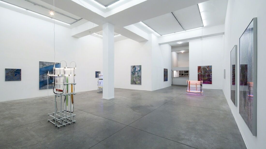 """Installation view of """"Command Shift 4"""" at Hezi Cohen Gallery. Photo by Tal Nisim, courtesy of Hezi Cohen Gallery."""