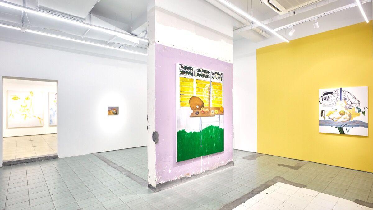 "Zheng Haozhong, installation view of ""TAKI"" at BANK, 2019. Courtesy of BANK."