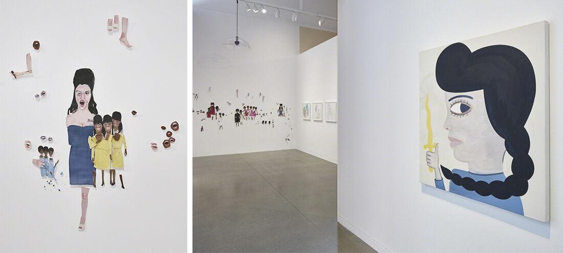 """You Know I'm No Good"" (2015) at Contemporary Jewish Museum, San Francisco. Photo: Johnna Arnold."