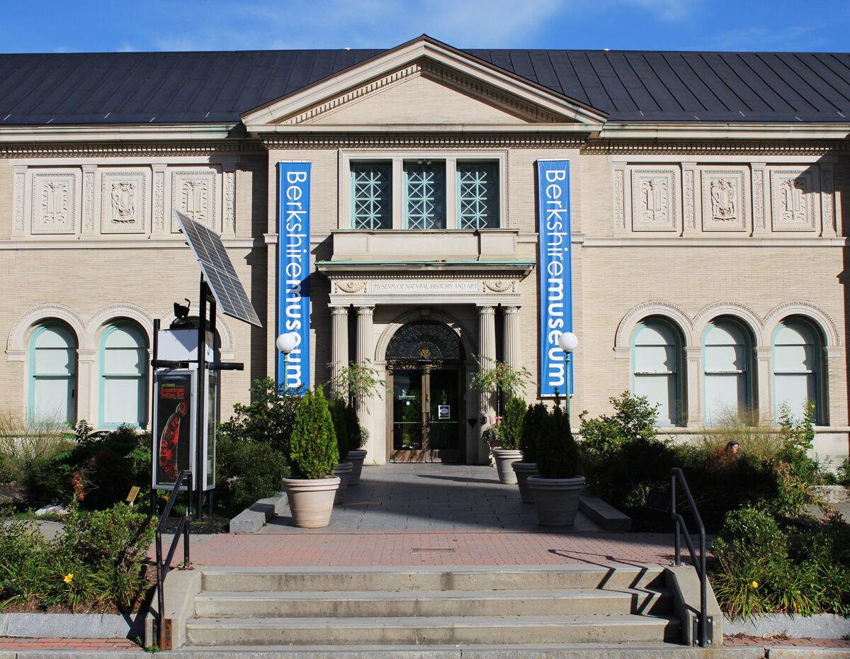 The Berkshire Museum in Pittsfield, Massachusetts. Photo by the Berkshire Museum, via Wikimedia Commons.