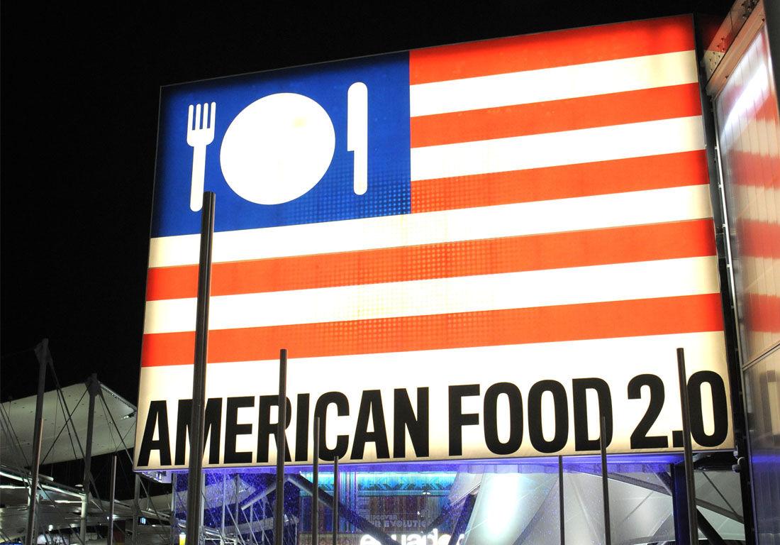 American Pavilion.Photo Pietro Baroni / Expo 2015.