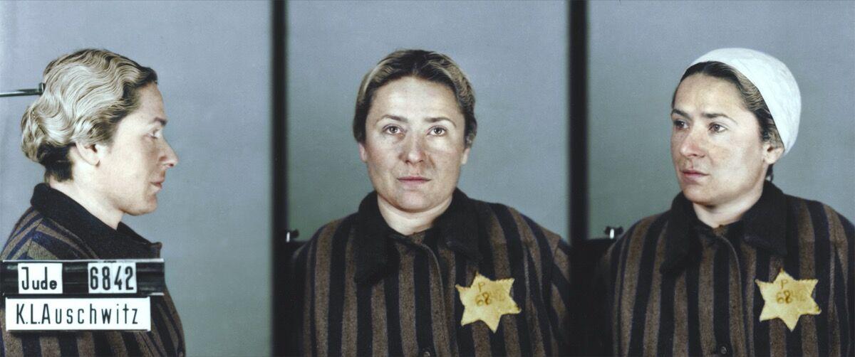 Maria Schenker. © Faces of Auschwitz/Marina Amaral/Auschwitz Memorial Museum.