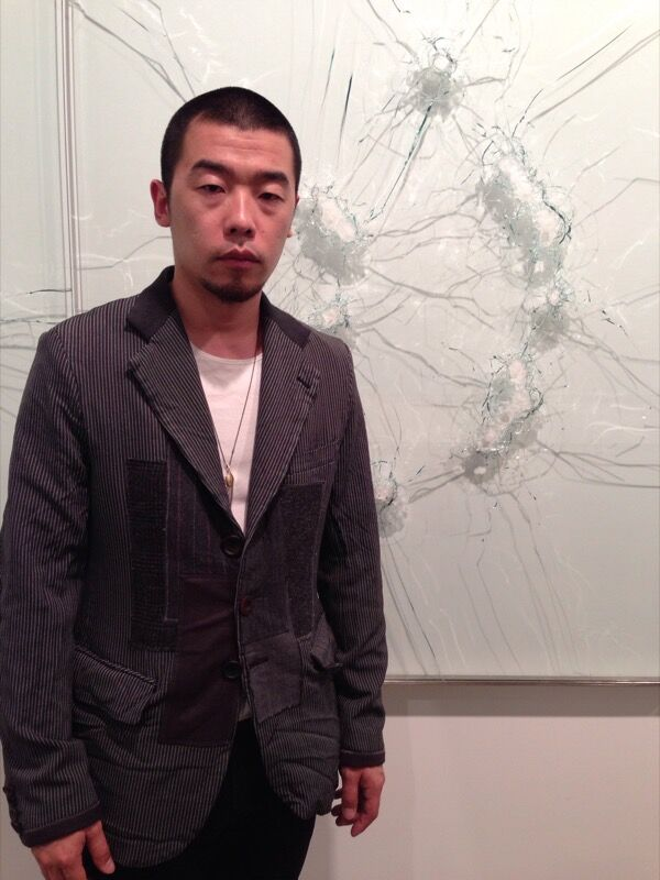 Portrait of Zhao Zhao courtesy of Chambers Fine Art.