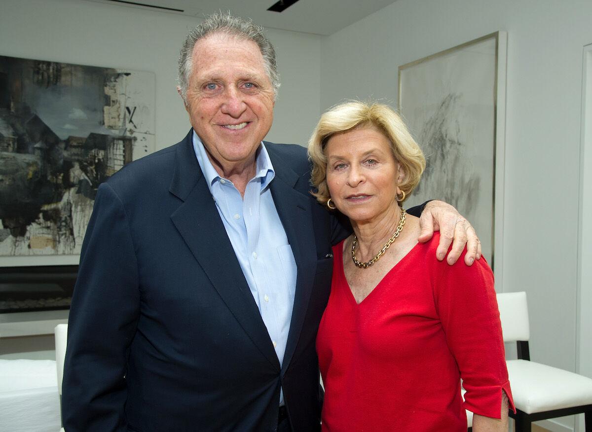 Stanley Hollander and Gail Hollander in 2013. Photo by John Sciulli/WireImage.