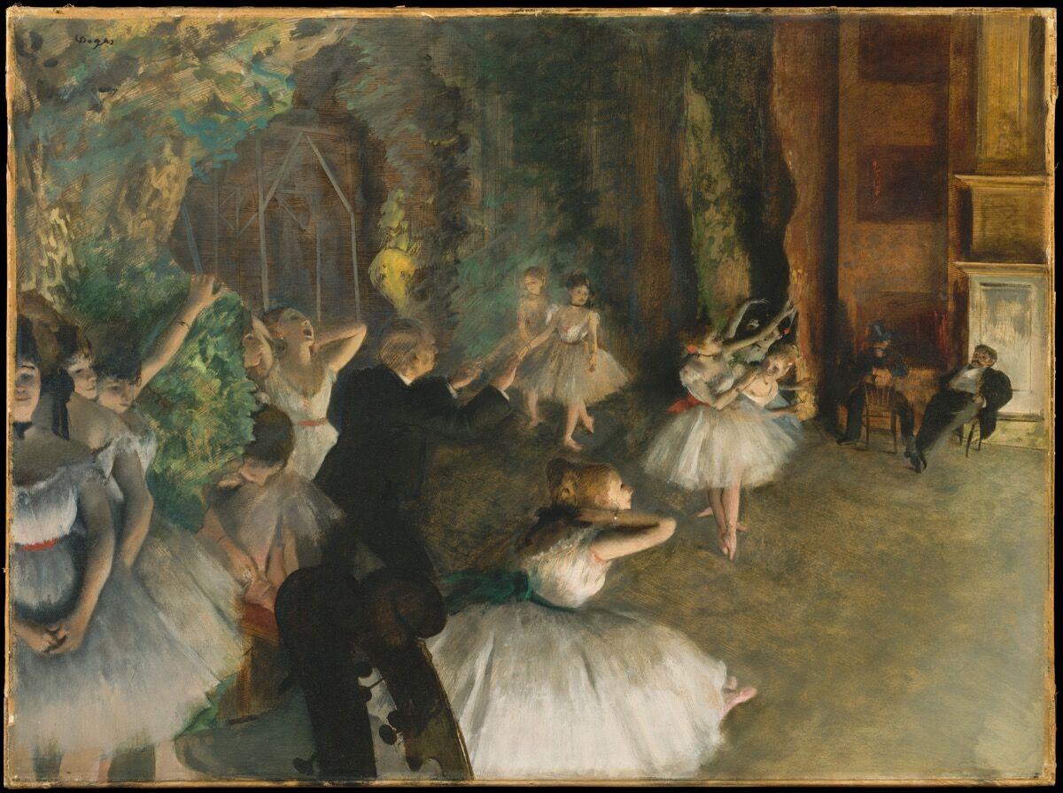 Edgar Degass Ballet Dancers Hide A Sordid Backstage Reality