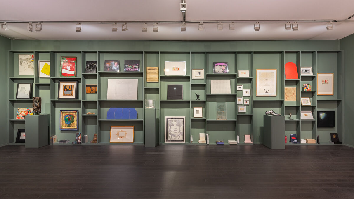 Installation view of Luxembourg & Dayan's booth at Frieze Masters, 2018. Courtesy of the gallery.