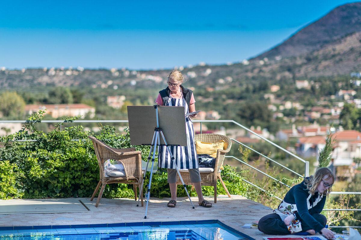 Photo from Artful Retreats Crete, October 2017. Photo by Andreas Markakis.