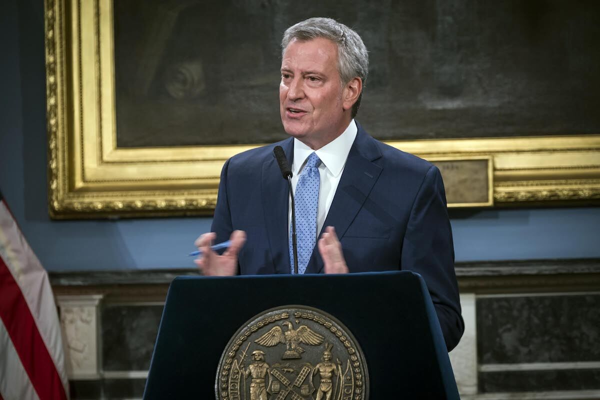 New York City Mayor Bill de Blasio. Photo by Ed Reed/Mayoral Photography Office, via Flickr.